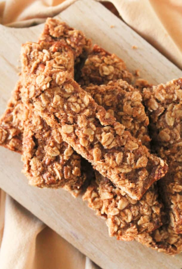 A close up of granola bars