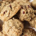A close up of Cookies