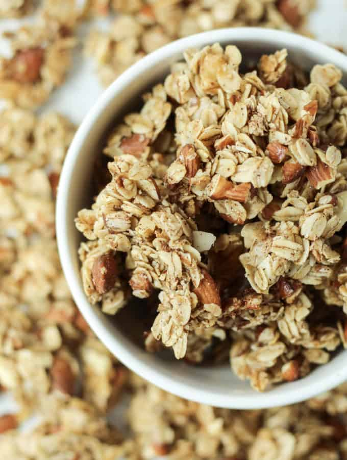 A bowl of Granola